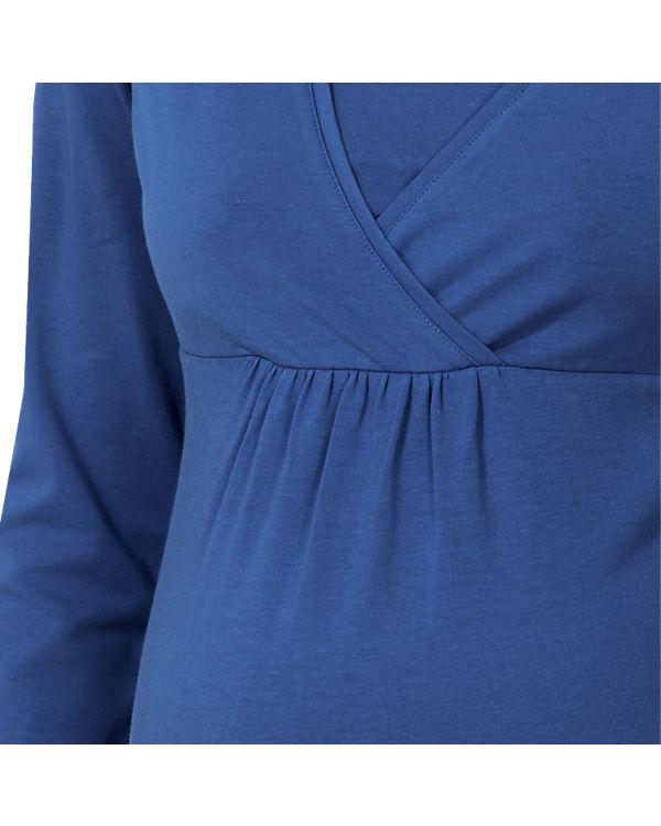 ESPRIT for mums Stilllangarmshirt blau