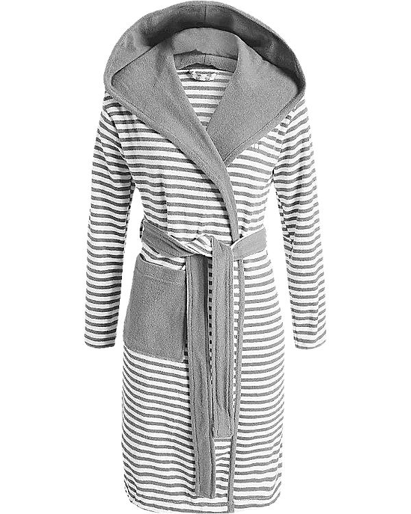 "Bademantel ""Striped Hoodie"""