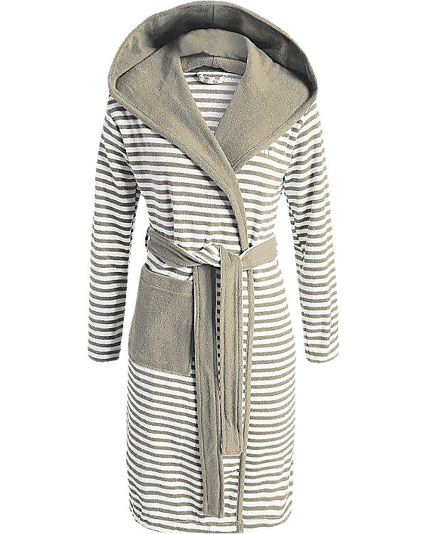 Striped Hoodie, Bademantel