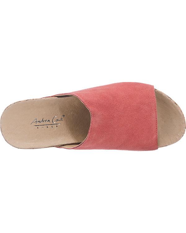 Andrea Conti Pantoletten pink