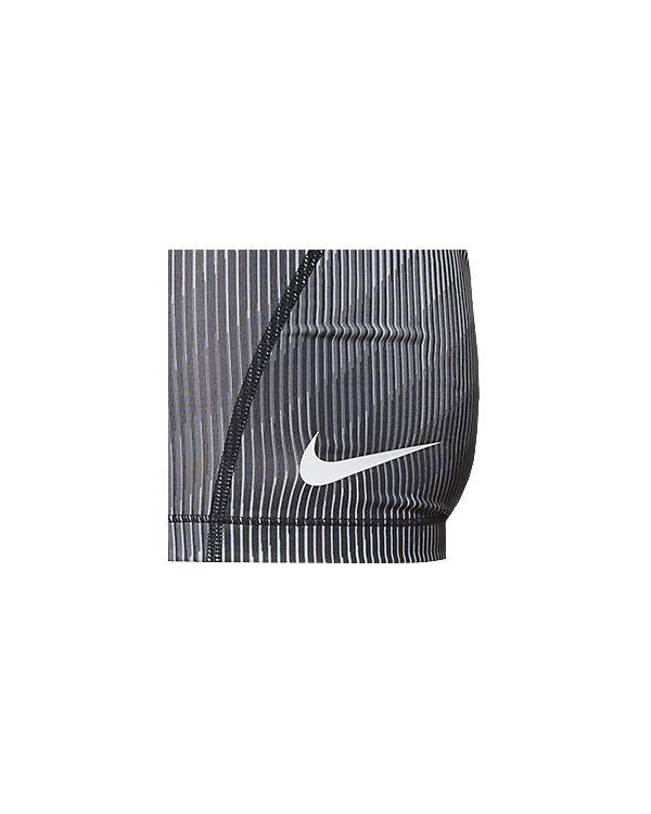 NIKE Shorts weiß/grau