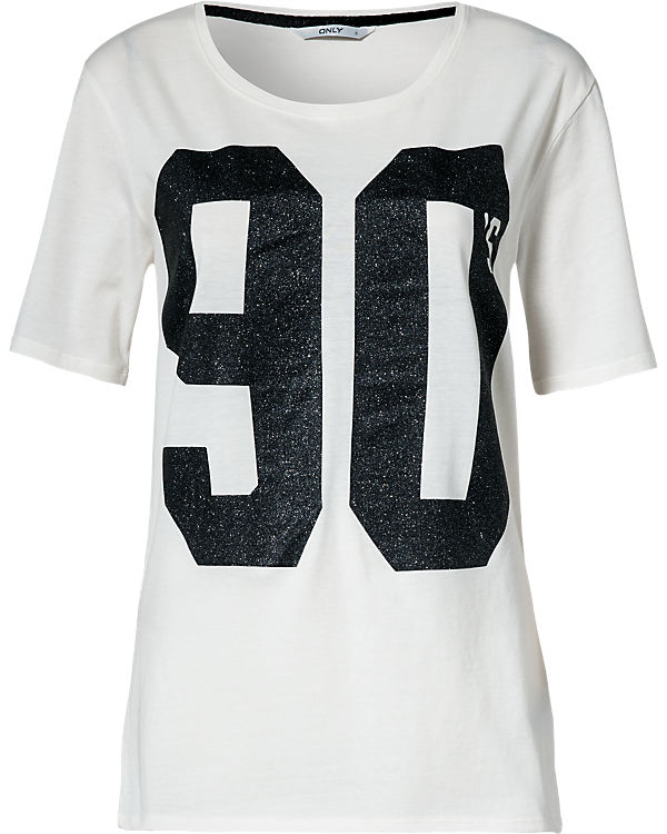 ONLY T-Shirt creme