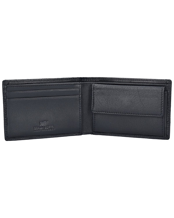 Braun Büffel Braun Büffel Toulouse Geldbörse Leder 11 cm schwarz