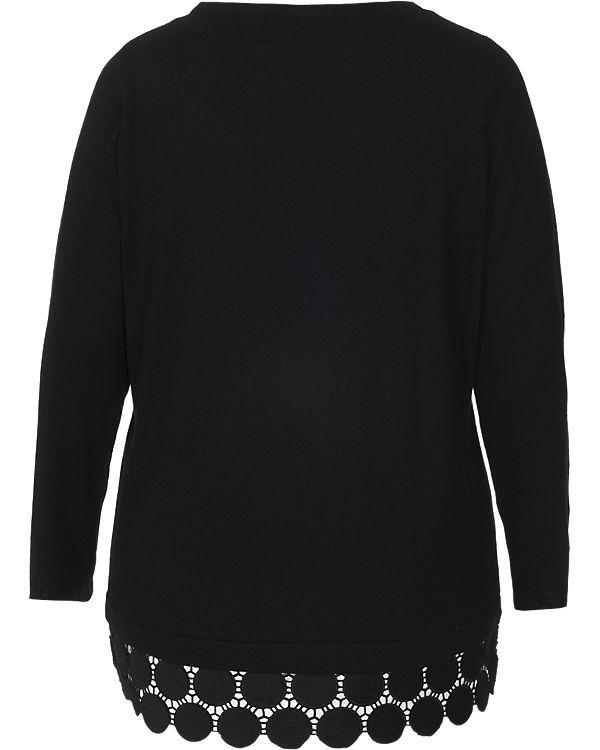 TRIANGLE Pullover schwarz