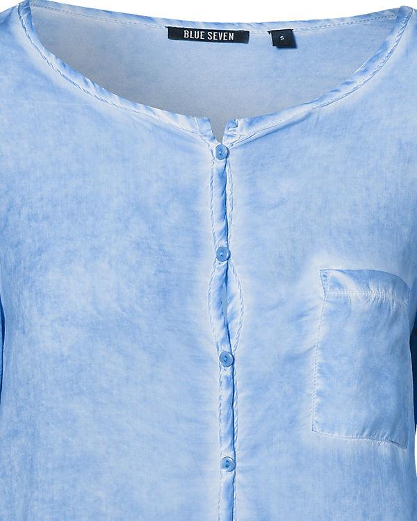 blue Blusenshirt hellblau