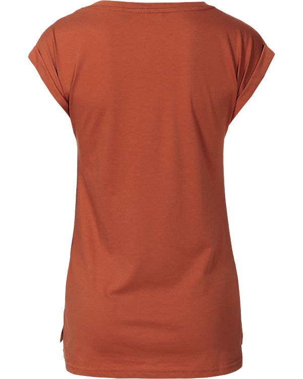 blue T-Shirt orange