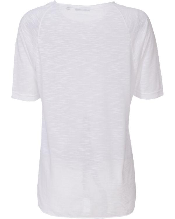 blue T-Shirt weiß