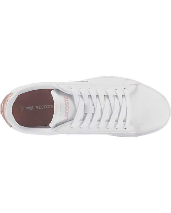 LACOSTE CARNABY EVO 217 2 SPW WHT/LT PNK Sneakers weiß Modell 1