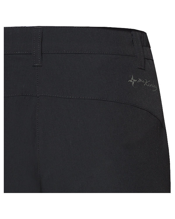 McKinley Abzipphose Mendoran schwarz