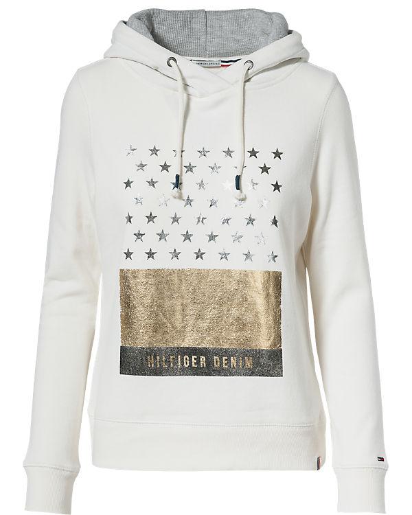 HILFIGER DENIM Sweatshirt offwhite