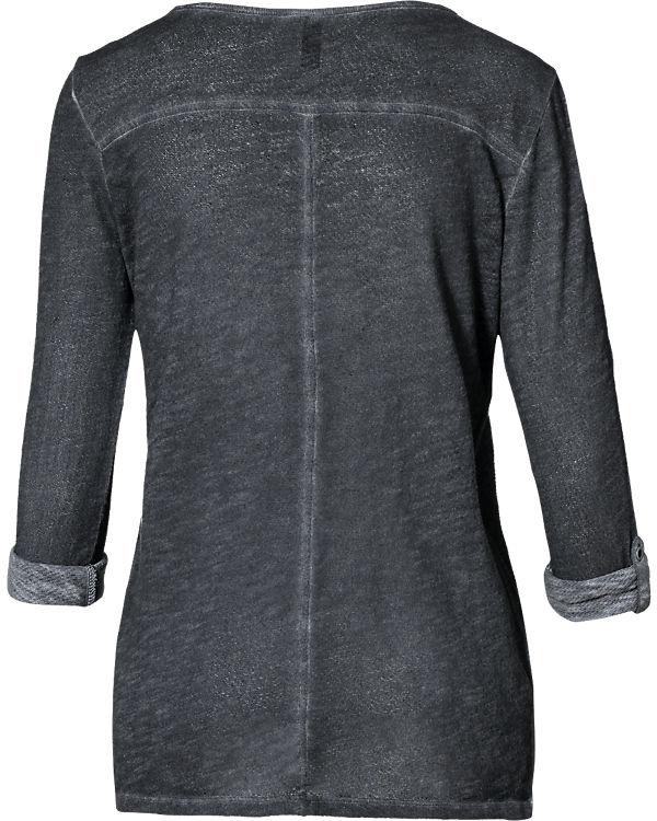 Q/S Langarmshirt schwarz