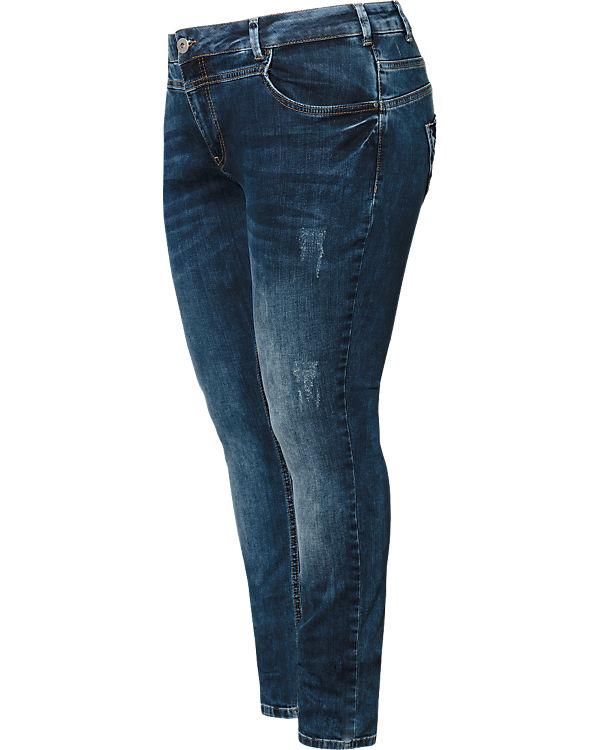 Zizzi Jeans Sanna Slim blau