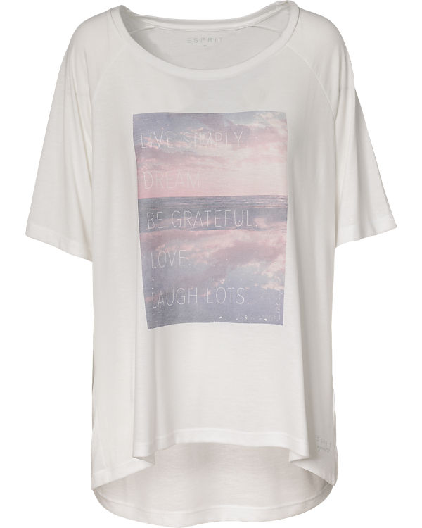 ESPRIT Sports T-Shirt offwhite