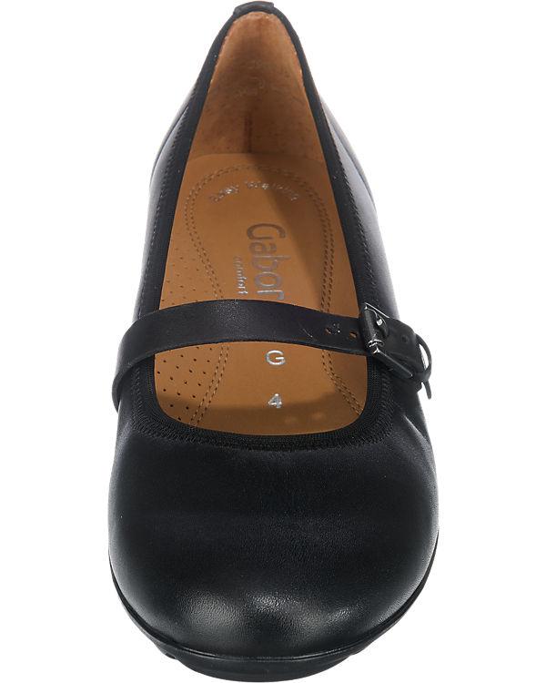 Gabor Ballerinas schwarz