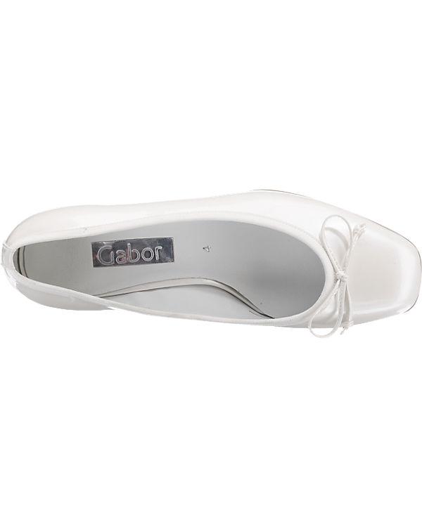 Gabor Pumps weiß