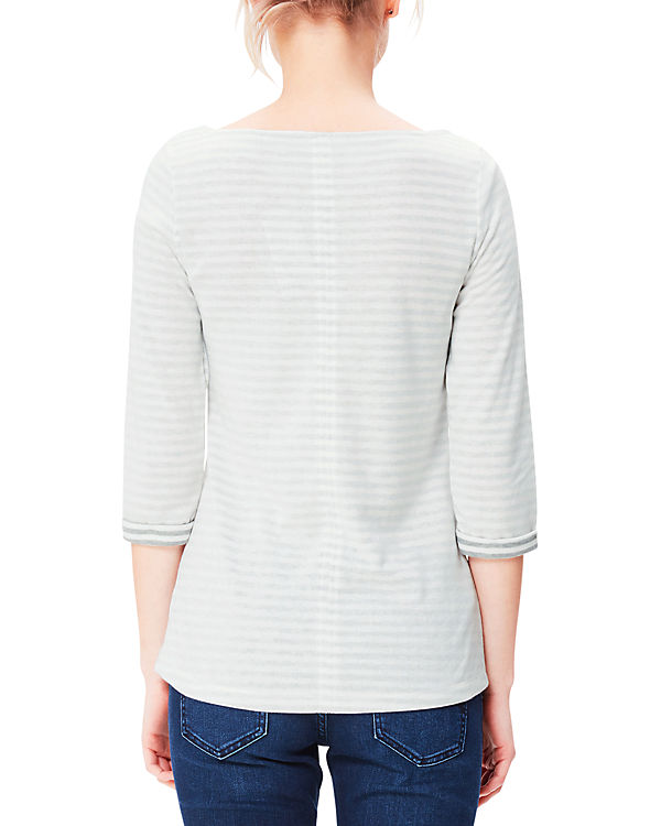 s.Oliver 3/4-Arm-Shirt grau