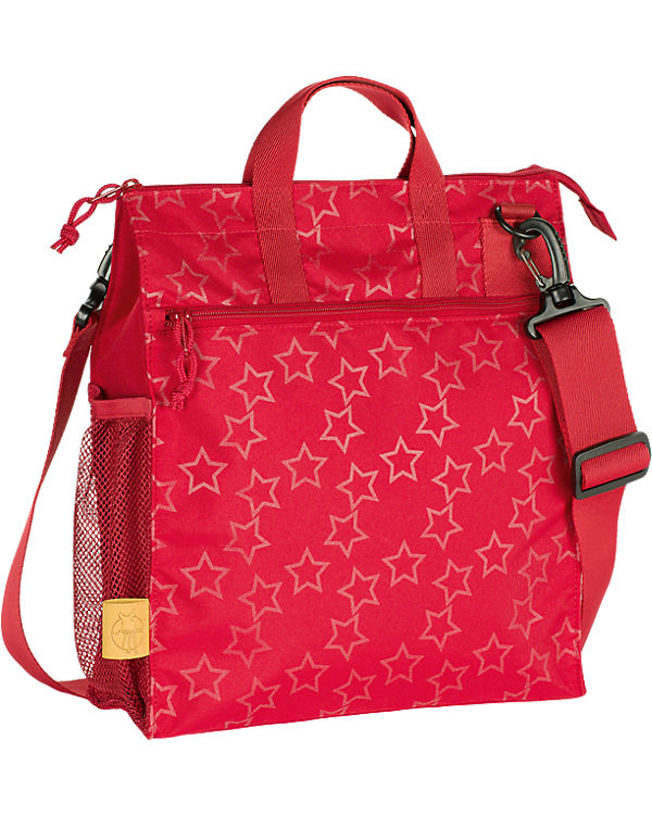 Lässig Wickeltasche Casual, Buggy Bag, Reflective Star, flaming rot