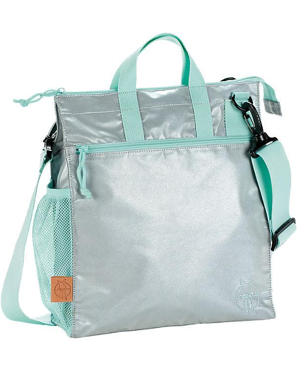 Lässig Wickeltasche Casual, Buggy Bag, Full Reflective silber