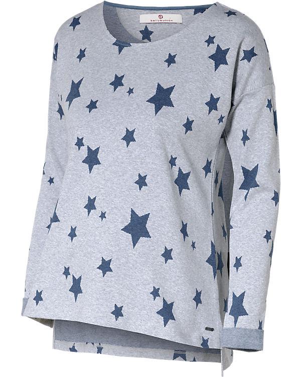 bellybutton Umstandspullover Sterne blau