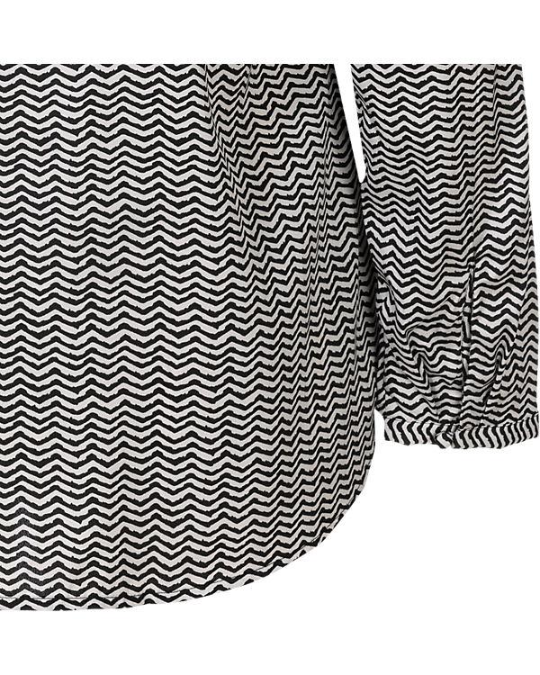 TRIANGLE Bluse schwarz