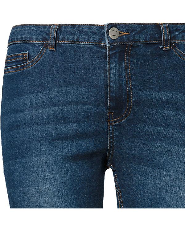 JUNAROSE Jeans Slim dark blue denim