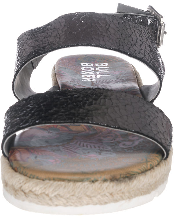 BULLBOXER Sandaletten silber