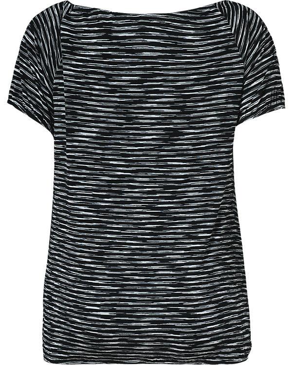 BLUE SEVEN T-Shirt schwarz