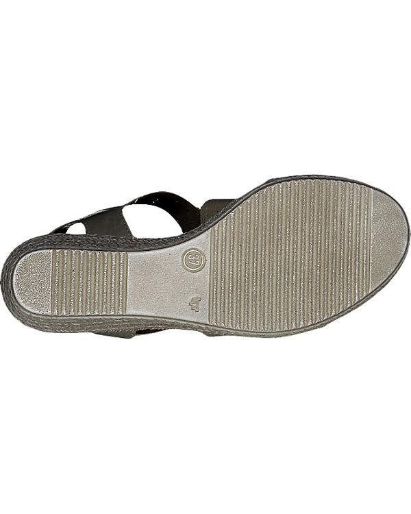 MARCO TOZZI Rafa Sandaletten grau