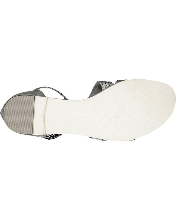 MARCO TOZZI Toceno Sandaletten silber