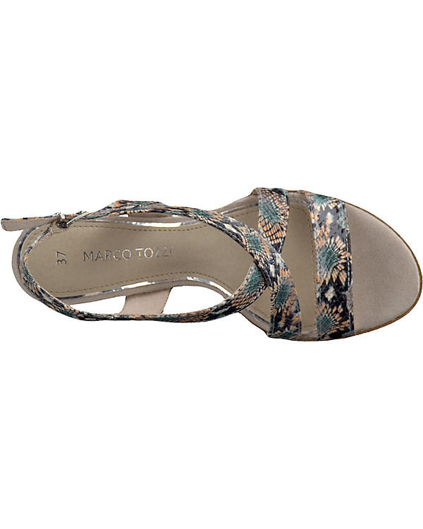 MARCO TOZZI Paduli Sandaletten mehrfarbig