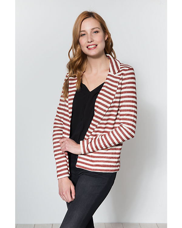ONLY Blazer rot/weiß
