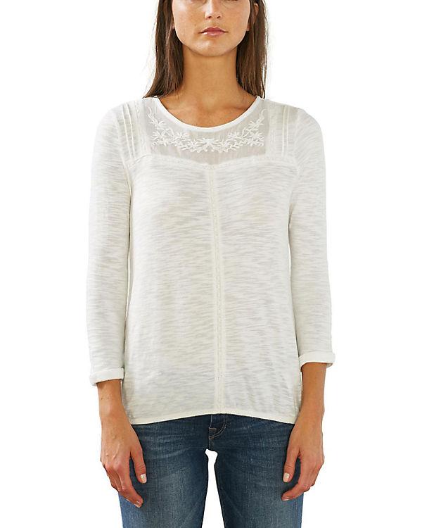 ESPRIT 3/4-Arm-Shirt offwhite