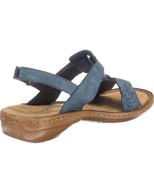 rieker Sandaletten blau