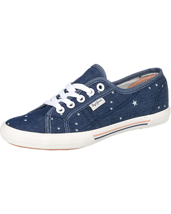 Pepe Jeans Aberlady Star Jeans Sneakers dunkelblau