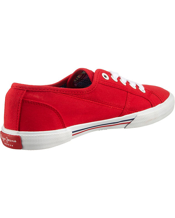 Pepe Jeans Aberlady Basic 17 Sneakers rot