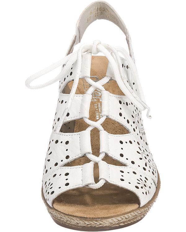 rieker Sandaletten weiß