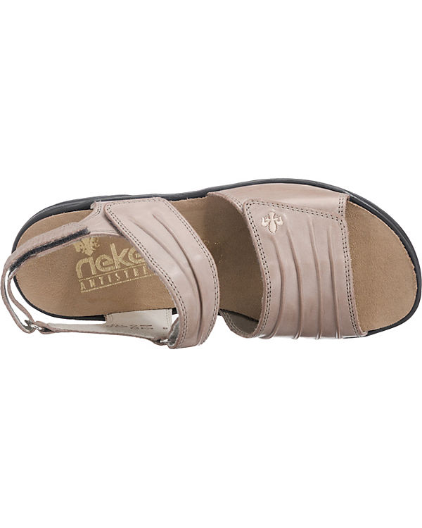 rieker Sandalen grau