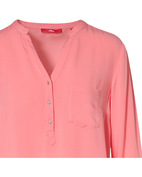s.Oliver Bluse rosa