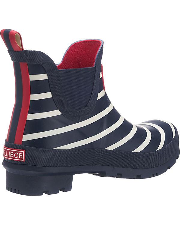 Short Welly Boot Gummistiefel blau/weiß
