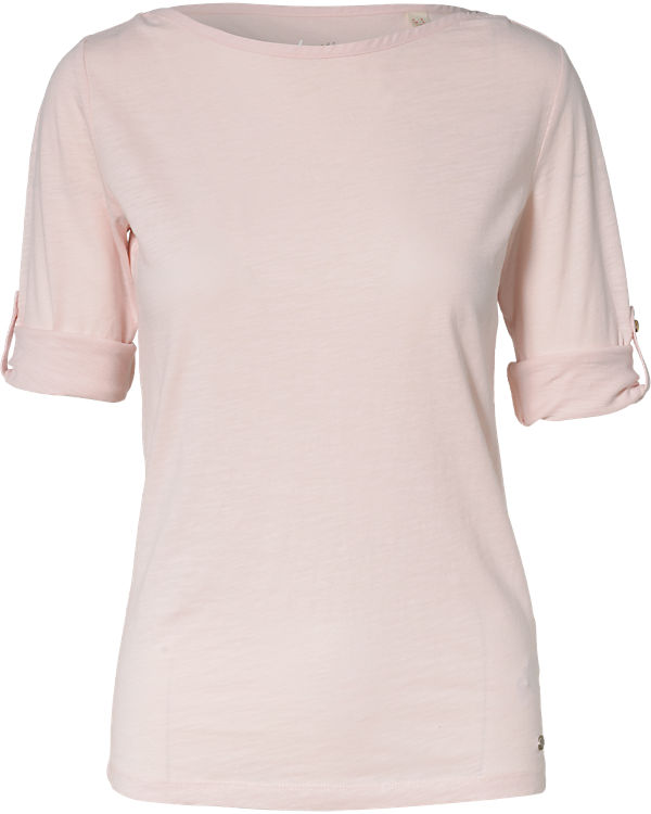 ESPRIT 3/4-Arm-Shirt rosa