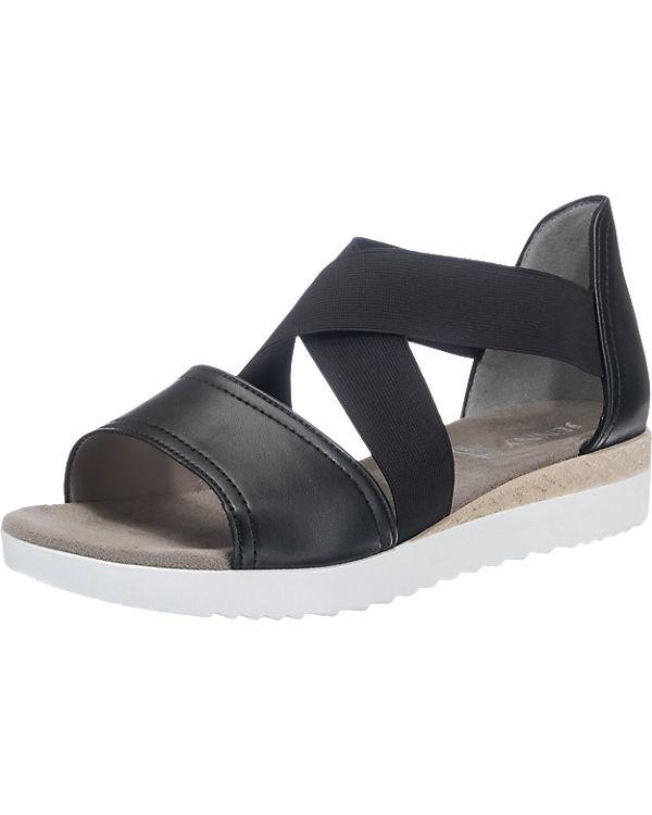 JENNY Cassis Sandaletten weit schwarz