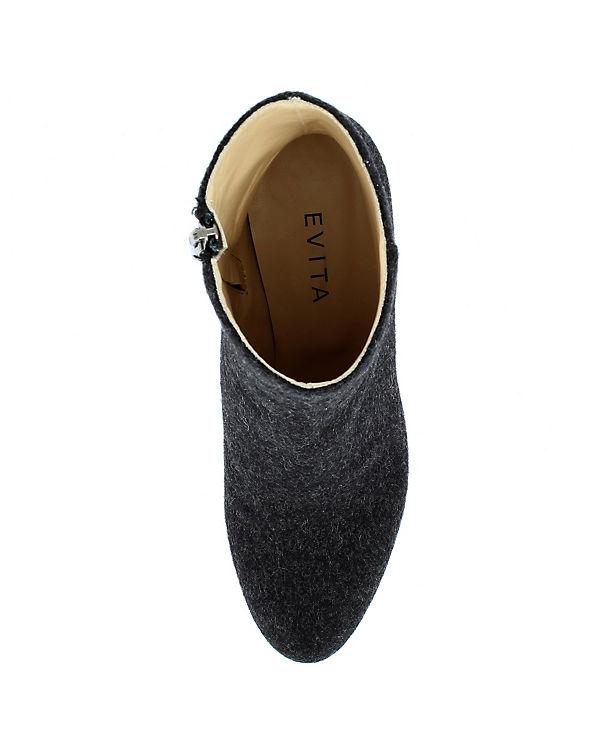 Evita Shoes Stiefeletten schwarz