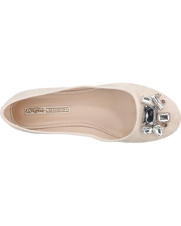 BUFFALO Ballerinas beige