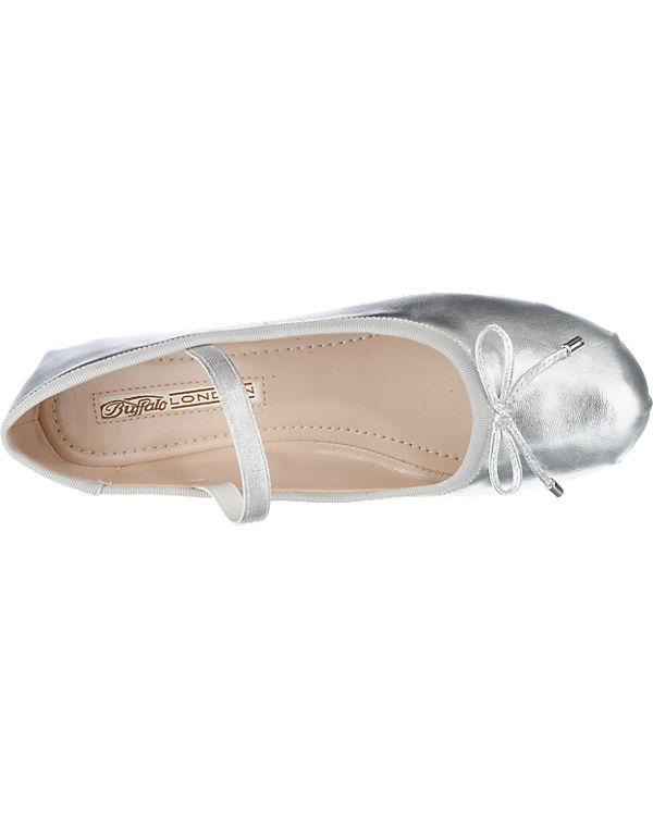 BUFFALO Ballerinas silber