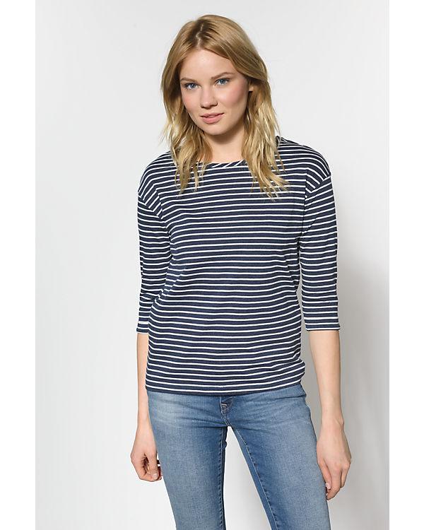 fransa 3/4-Arm-Shirt dunkelblau