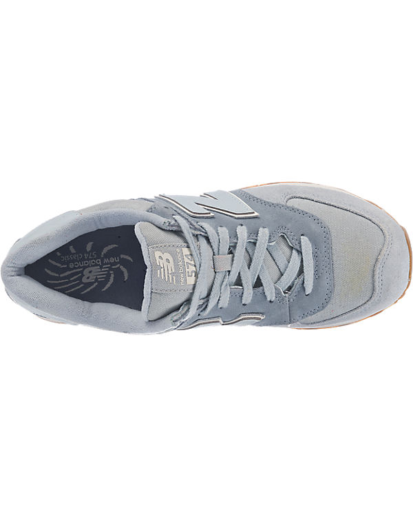new balance ML574 D Sneakers blau