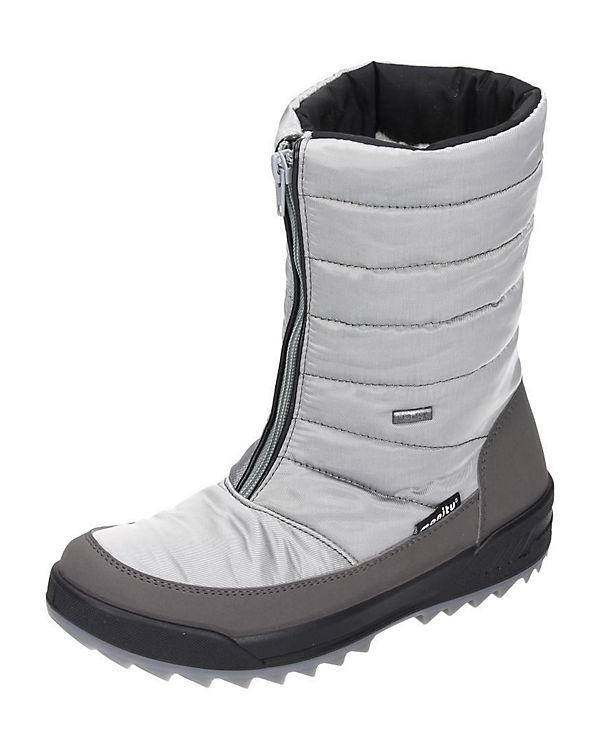 Polar-Tex Stiefel weiß-kombi