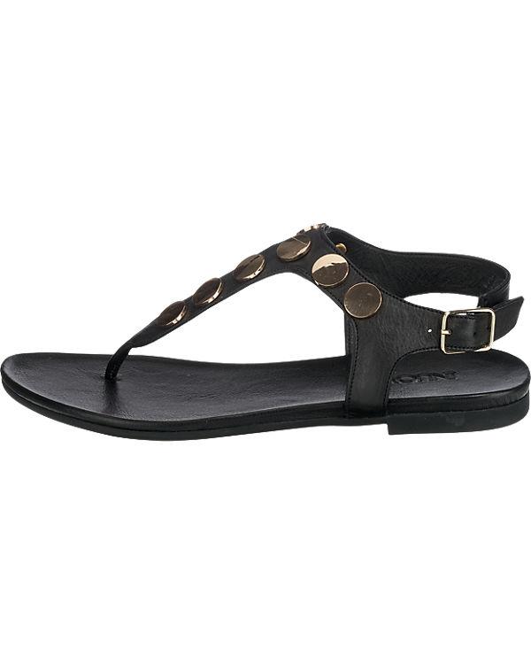 INUOVO Sandaletten schwarz