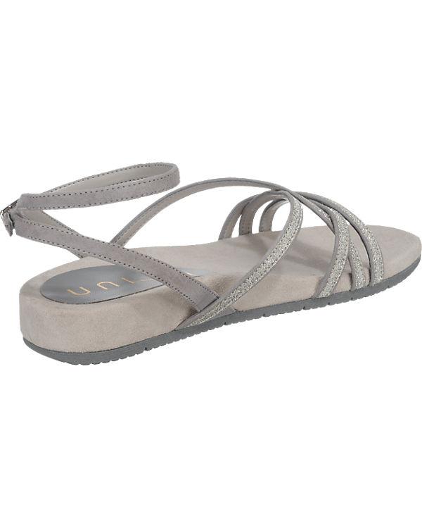 Unisa Cabila Sandaletten silber
