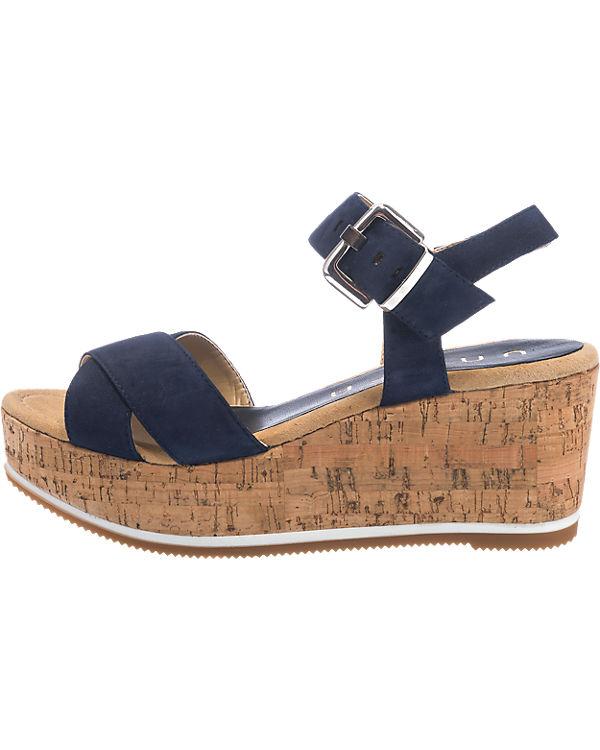 Unisa Karpi Sandaletten blau